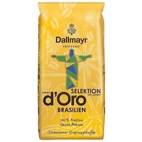 Кава Dallmayr Selektion Crema d'Oro Brasilien в зернах 1кг