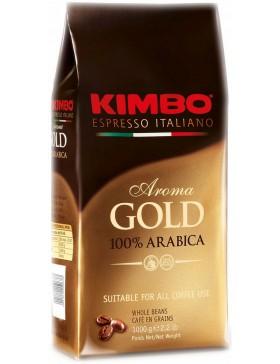 Кава Kimbo Aroma Gold 100% Arabica в зернах 1 кг