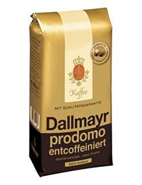 Кава Dallmayr Prodomo Entcoffeiniert в зернах без кофеїну 500 г