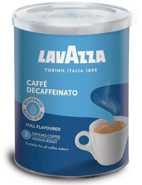 Кава Lavazza Dek Decaffeinato мелена без кофеїну 250г м/б