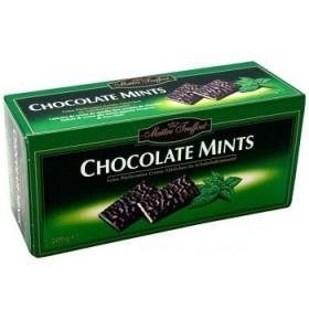 Шоколадні плитки Maitre Truffout Chocolate Mints з м'ятною начинкою 200 г