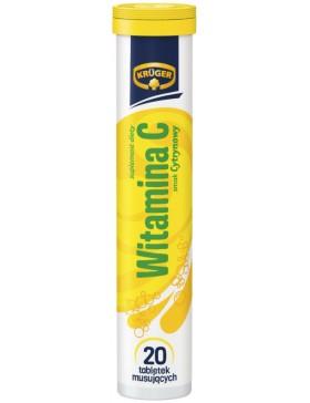 Вітаміни розчинні шипучі Kruger Witamina C 20 табл