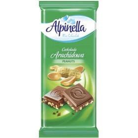 Шоколад Alpinella Arachidowa молочний з арахісом 90 г