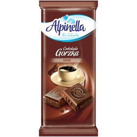 Шоколад Alpinella Gorzka чорний 90 г