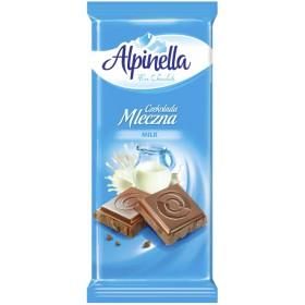 Шоколад Alpinella Mleczna молочний 90 г