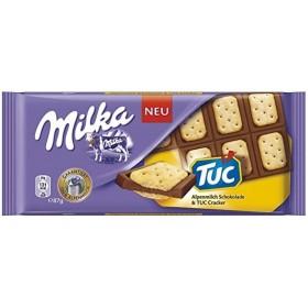 Молочний Шоколад Milka TUC 87г