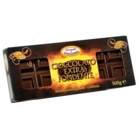 Шоколад чорний Dolciando Cioccolato Extra Fondente 500 г