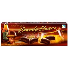 Цукерки Maitre Truffout Brandy Beans праліне зі смаком Бренді 200 г