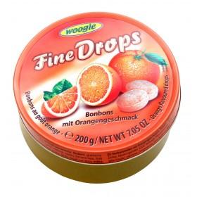 Цукерки Woogie Fine Drops апельсин 200 г
