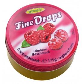 Цукерки Woogie Fine Drops малина 175 г