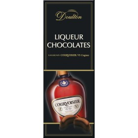 Цукерки Doulton Courvoisier шоколадні з начинкою коньяк 150 г