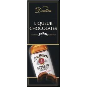 Цукерки Doulton Jim Beam шоколадні з начинкою віскі Jim Beam 150 г