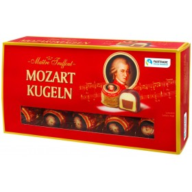 Цукерки шоколадні Maitre Truffout Mozart kugeln 200 г