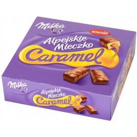 Цукерки Milka Alpejskie Mleczko пташине молоко зі смаком карамелі 330г
