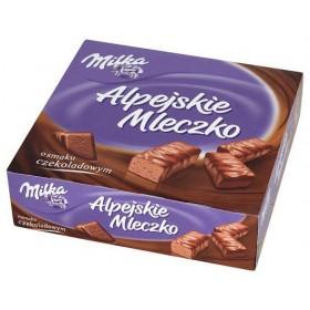 Цукерки Milka Alpejskie Mleczko пташине молоко з шоколадним смаком 330г