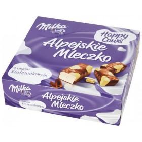 Цукерки Milka Alpejskie Mleczko пташине молоко з вершковим смаком 330г