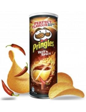 Чипси Pringles Hot & Spicy 165 г