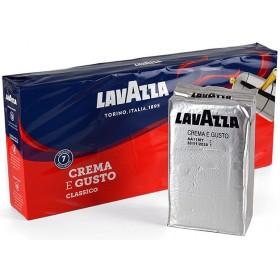Кава Lavazza Crema e Gusto мелена 250г (silver)