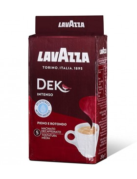 Кава Lavazza Dek Intenso мелена 250г
