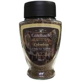 Кава Goldbach Colombian розчинна 200г