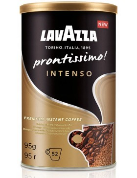 Кава Lavazza Prontissimo Intenso розчинна 95 г м/б