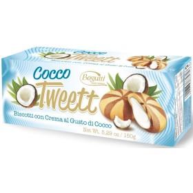 Печиво Tweet Coconut з кремом зі смаком кокосу 150г