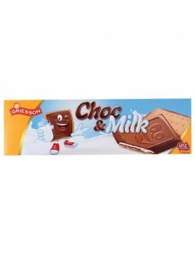 Печиво Griesson Choc Milk шоколадне 150 г