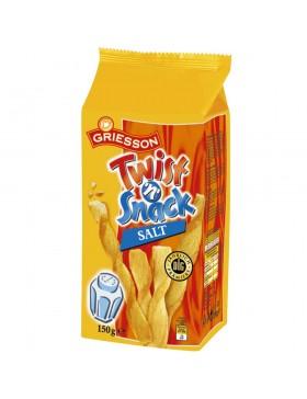 Печиво Griesson Twist 'n' Snack Salt солене 150 г