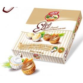 Вафельні кульки Sisi зі смаком кокоса та арахісу 300 г
