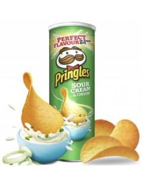 Чипси Pringles Sour Cream & Onion 165 г