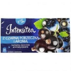 Чай Intensitea Czarna porzeczka i aronia, чорна смородина і чорноплідна горобина 40 г